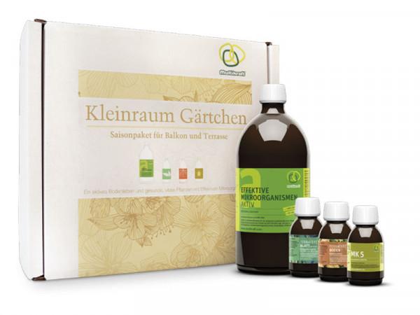 Effektive Mikroorganismen - Paket 'Kleinraumgärtchen'