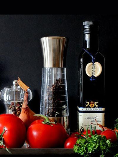 Kräutersortiment für die mediterrane Küche