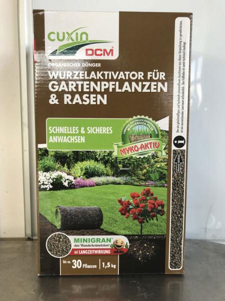 Cuxin Wurzelaktivator für Gartenpflanzen und Rasen