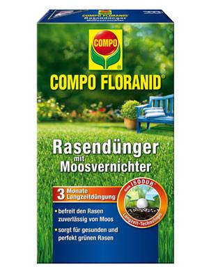 Floranid® Rasendünger mit Moosvernichter