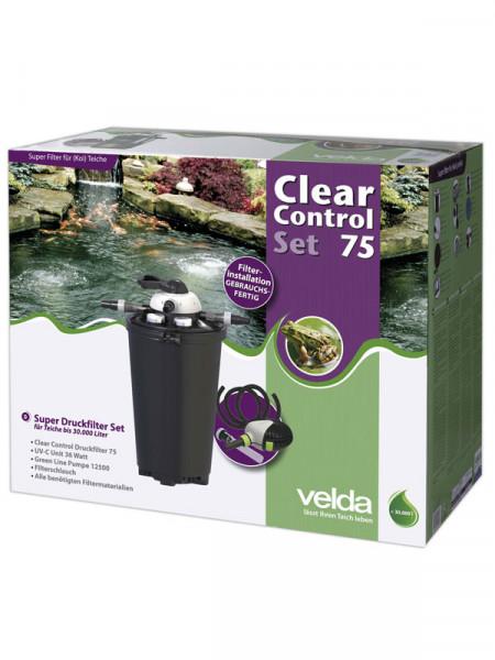 Clear Control 75 Set - Druckfilter-Set von Velda (Art.Nr.126372)
