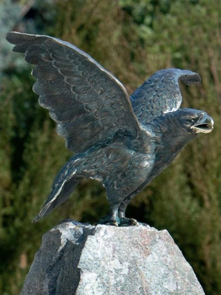 Bronzefigur Steinadler (Art.Nr. 88349)