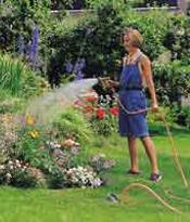 Bewääserung für den Garten