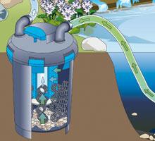 Teich Druckfilter